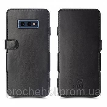 Чехол книжка Stenk Prime для Samsung Galaxy S10e Чёрный