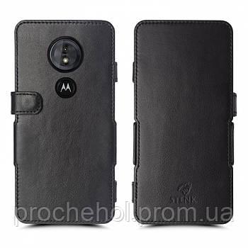 Чехол книжка Stenk Prime для Motorola Moto G6 Play Чёрный