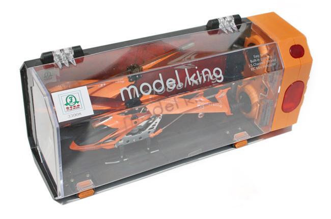 """Вертолет на радиоуправлении """"Model King"""" Оранжевый"""