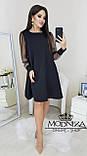 """Вечернее платье с прозрачными длинными рукавами, сеточка """"Муза"""".Распродажа, фото 4"""