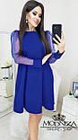 """Вечернее платье с прозрачными длинными рукавами, сеточка """"Муза"""".Распродажа, фото 8"""