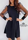 """Вечернее платье с прозрачными длинными рукавами, сеточка """"Муза"""".Распродажа, фото 2"""