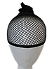 Сетка-шапочка чёрного цвета для парика или сна