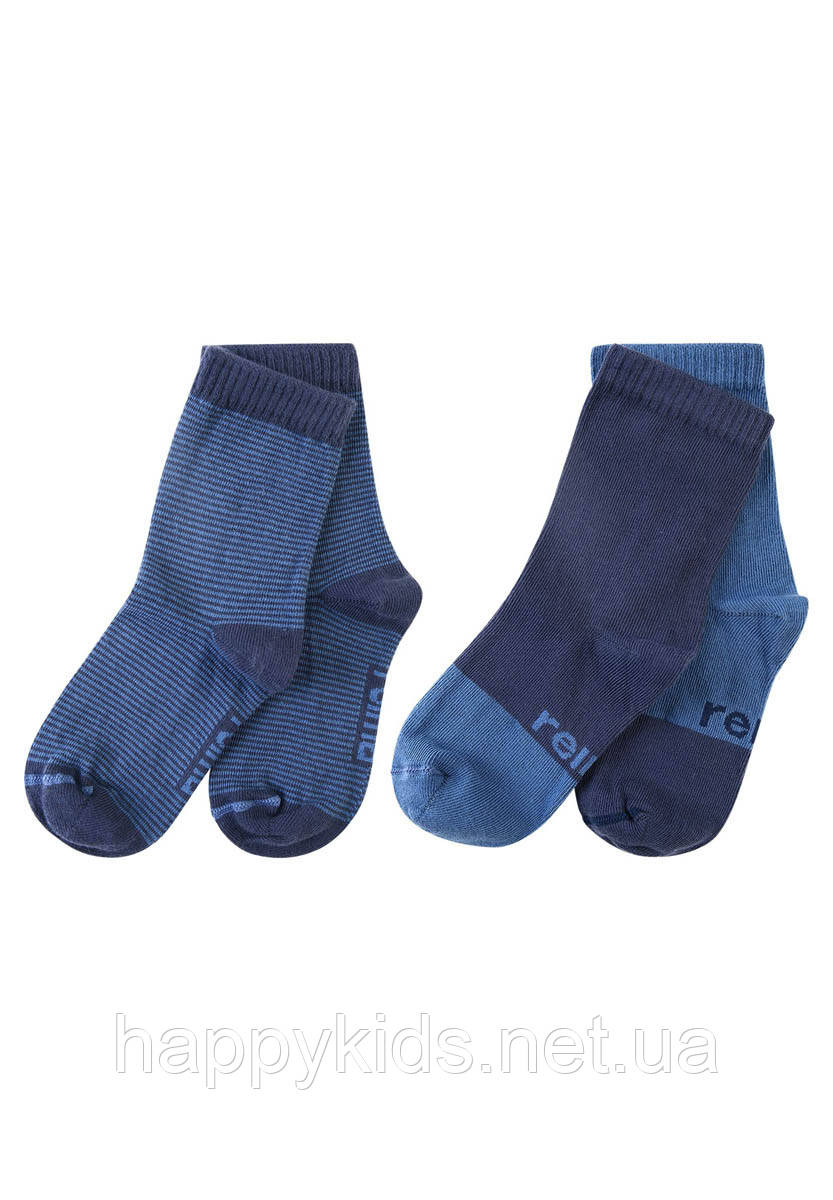 Носки для мальчика Reima MyDay 2 пары 527334-6981. Размеры 22/25 - 38/41.