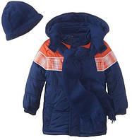 Куртка синяя iXtreme (США) с шарфом и шапкой для мальчика 2 года