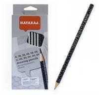 Набор карандашей чернографитных Nataraj mix заостренный 12 шт 201219002