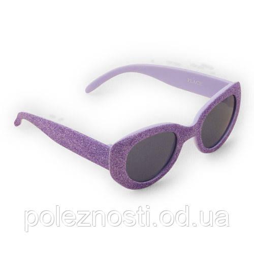 Очки солнцезащитные, сиреневые на 2-4 года, ТМ The Children's Place