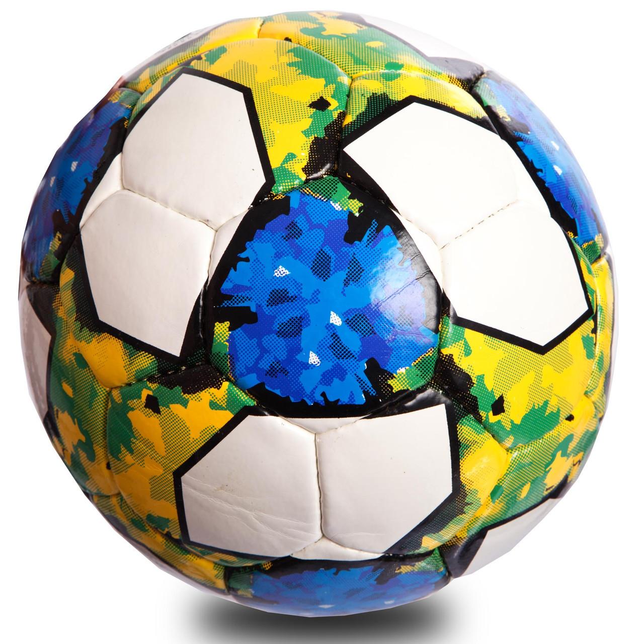 Мяч футбольный №5 PU ламин. FB-0712