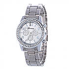 Часы Женские из Сплава со Стразами, Покрытие Платиной, Размер:37х8мм, (УТ100016588)