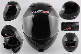 Шлем трансформер   (size:XL, черный, + солнцезащитные очки)   LS-2