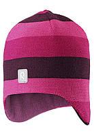 Зимняя шапка-бини для девочки Reima Huurre 528643-4651. Размеры 50 - 58., фото 1