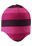 Зимняя шапка-бини для девочки Reima Huurre 528643-4651. Размеры 52 - 58., фото 2