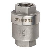 Клапан обратный муфтовый AISI 316 Genebre 2416 Ду 20