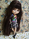 Шарнирная кукла Айси с длинными волосами и стеклянными 3D глазами + 10 пар кистей + одежда и обувь в подарок, фото 5