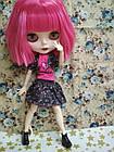 Шарнирная кукла Блайз (Айси), розовый цвет волос + 10 пар кистей, одежда и обувь в подарок, фото 2