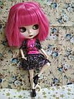 Шарнирная кукла Блайз (Айси), розовый цвет волос + 10 пар кистей, одежда и обувь в подарок, фото 3