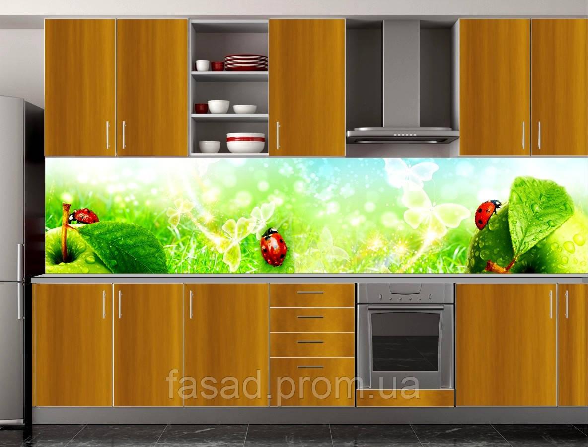 Скіналі для кухні (ламінована наклейка) Кухонний фартух розмір 600*3000 мм. Код-10337