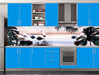 Скіналі для кухні (ламінована наклейка) Кухонний фартух розмір 600*3000 мм. Код-10401