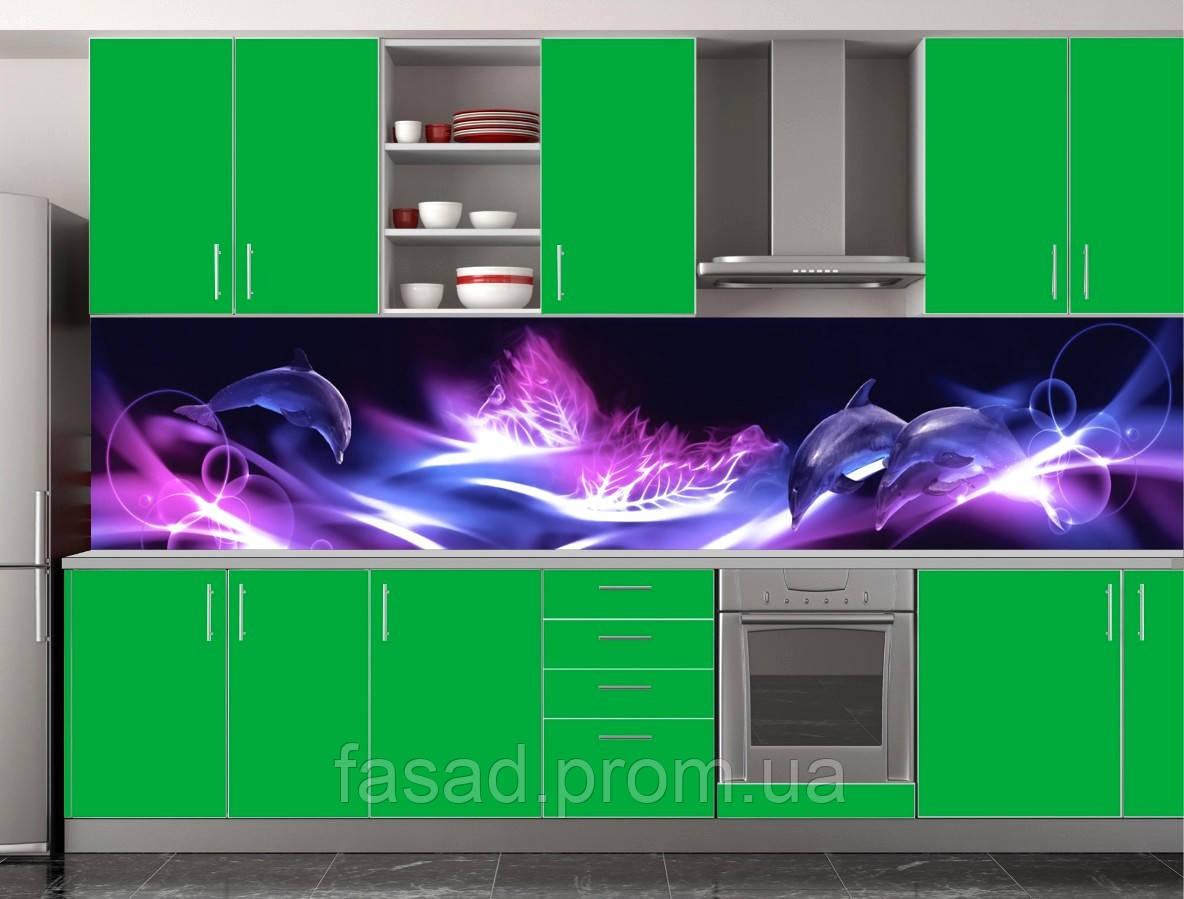 Скіналі для кухні (ламінована наклейка) Кухонний фартух розмір 600*3000 мм. Код-10407