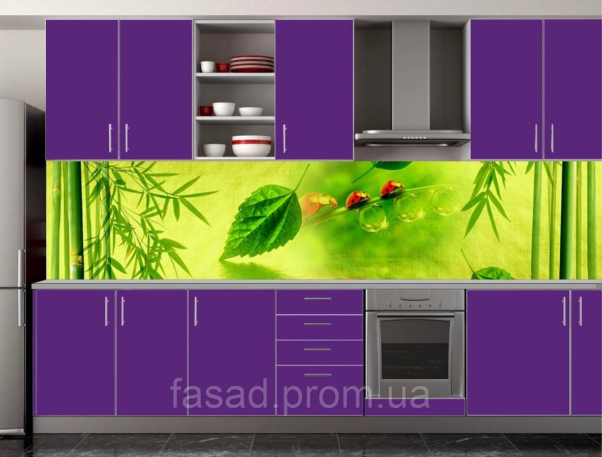 Скіналі для кухні (ламінована наклейка) Кухонний фартух розмір 600*3000 мм. Код-10432