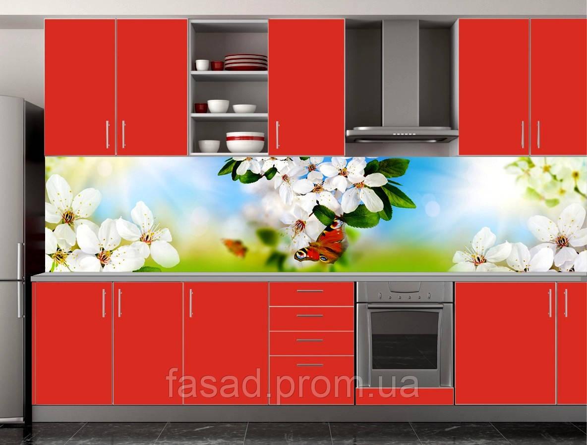 Скіналі для кухні (ламінована наклейка) Кухонний фартух розмір 600*3000 мм. Код-10435