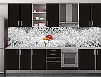 Скіналі для кухні (ламінована наклейка) Кухонний фартух розмір 600*3000 мм. Код-10448