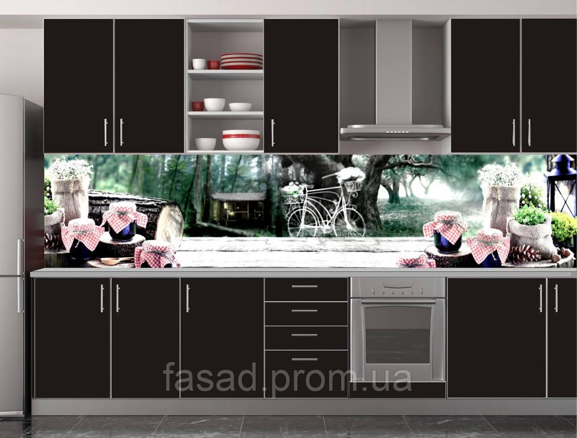 Скіналі для кухні (ламінована наклейка) Кухонний фартух розмір 600*3000 мм. Код-10874