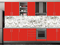 Скіналі для кухні (ламінована наклейка) Кухонний фартух розмір 600*3000 мм. Код-10885