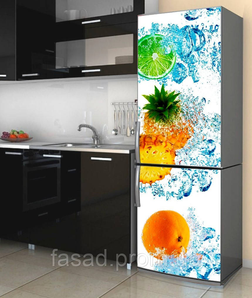 Наклейка на холодильник 600*2000 мм. Код-10955