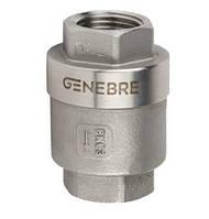 Клапан обратный муфтовый AISI 316 Genebre 2416 Ду 40