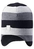 Зимняя шапка-бини для мальчика Reima Huurre 528643-9991. Размеры 54 и 58., фото 1