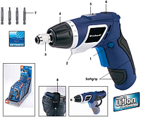 Аккумуляторная отвёртка EINHELL BLUE BT-SD 3,6 /1Li 3,6В 1,3Ач 200об/мин KTG