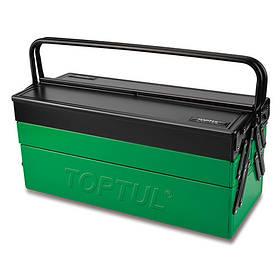 Ящик для инструмента  5 секций 530(L)x220(W)x350(H)mm  TOPTUL TBAC530K