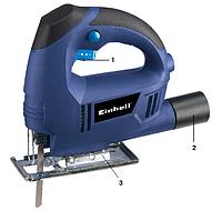 EINHELL BLUE Лобзик BT-JS 400E  400Вт, 3000об/мин  KTG