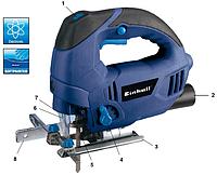 EINHELL BLUE Лобзик BT-JS 800E  800Вт, 3000об/мин  KTG