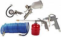 Набор пневмоинструмента  ( лакокрасочный ) Бригадир Standart (5 шт) KTG