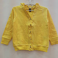 Детская одежда оптом Кофта на пуговицах начес для девочек оптом р.2-9 лет