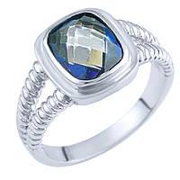Кольцо из серебра Жанин с топазом мистик 000057779 17 размер