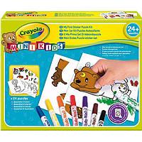 Набор для творчества Crayola Мой первый пазл-наклейка, раскраска 81-8113