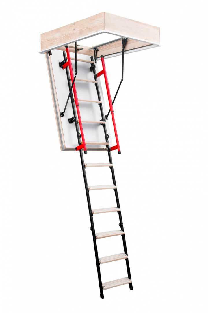 Люк чердачный с лестницей Oman Polar Plus (высота до 280 см)