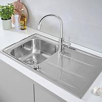 Набор кухонная мойка Grohe EX Sink 31570SD0 K400 смеситель Concetto 32663001