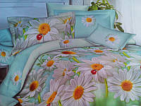 Комплект постельного белья от украинского производителя Polycotton Полуторный T-90944