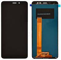 Дисплей (экран) для телефона Meizu M6s + Touchscreen Original Black