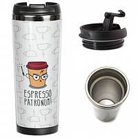 Термокружка Ziz Эспрессо патронум - 221995