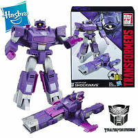 Робот-трансформер, Шоквейв от Hasbro,Кибер-батальон - Shockwave, Generations, Cyber Battalion Series - 207728