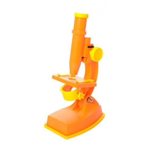 Микроскоп 3102C(Orange) Оранжевый 20см, инструменты, линзы, свет, фото 2