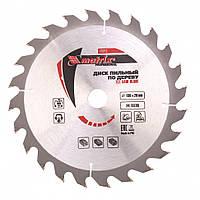 Пильний диск по дереву 190 х 20мм, 24 зуба + кольцо, 16/20 MTX PROFESSIONAL 732139
