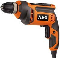 Дрель безударная AEG BE705R 705Вт, 0-2700об/мин, Ø сталь/алюминий/дерево 10/16/30мм, 15Нм, 1,6кг MTG
