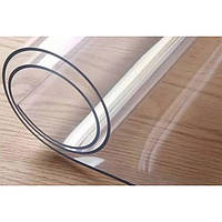 Мягкое стекло NewDWay Прозрачная силиконовая скатерть 3 в 1 Professional 0,6 мм (1428)