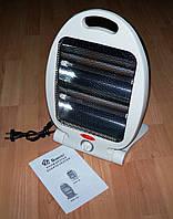 ✅ Мужу подарок в гараж ! Обогреватель кварцевый инфракрасный Domotec NSB-80 Quartz Heater 0.8кВа.   AG470034